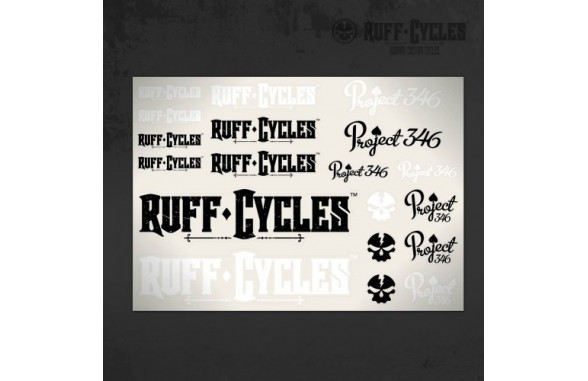Ruff P346 Sticker-Set