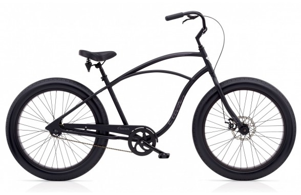 Cruiser Lux Fat Tire1_Matte Black (ファットクルーザー)